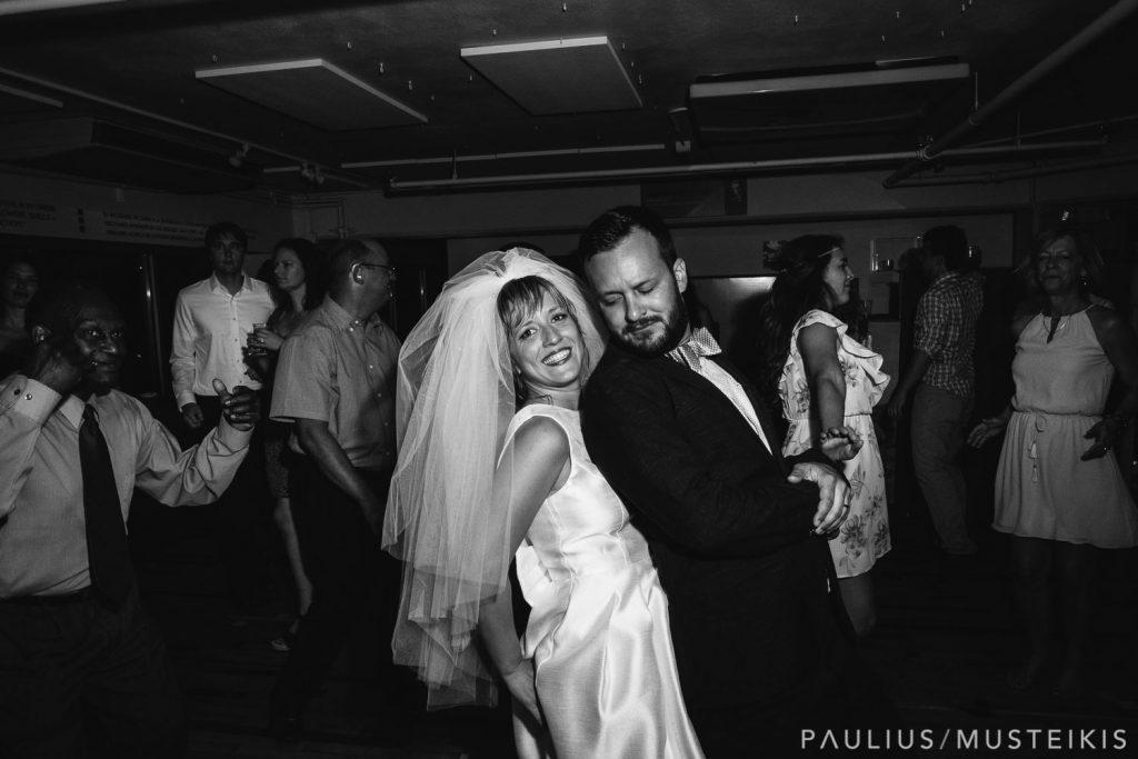 Madison Wisconsin wedding photographers photographing dancefloor in Madison Children's Museum